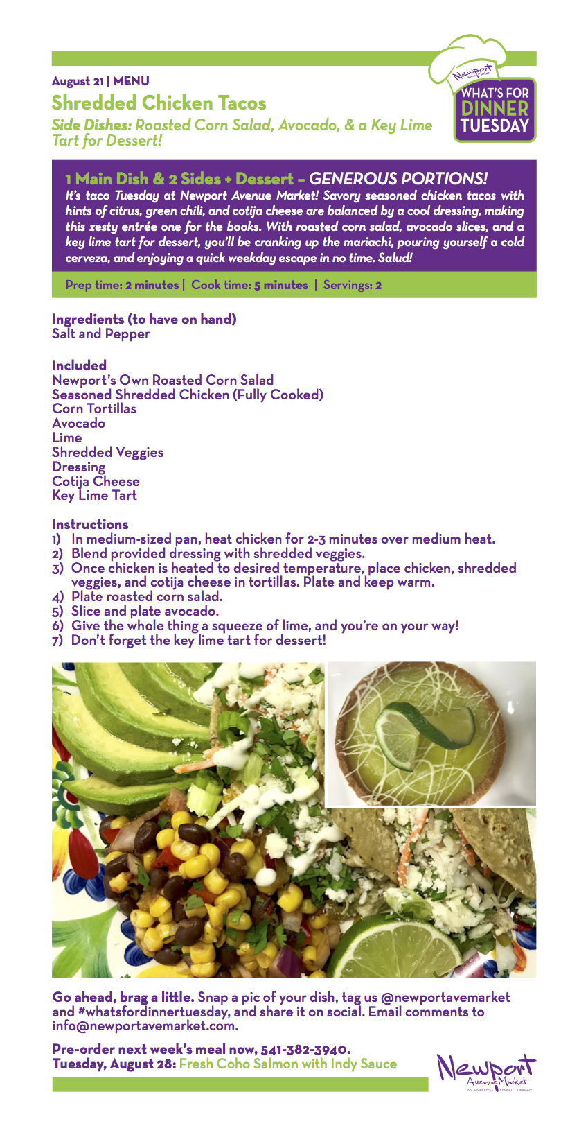 Shredded Chicken Tacos Recipe