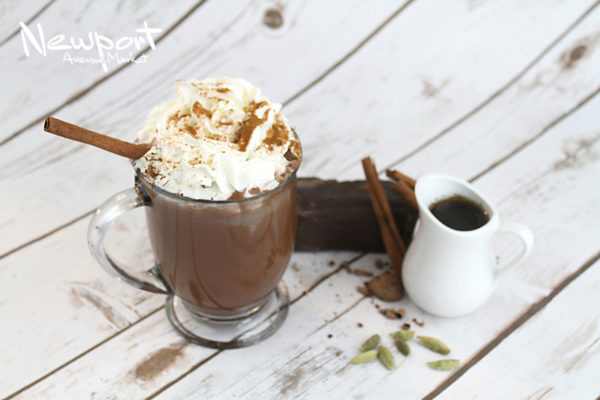 Spicy Maple Hot Chocolate