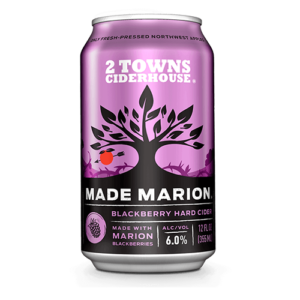 2 Towns Ciderhouse Made Marion Marionberry Cider
