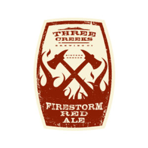 Three Creeks Brewing Firestorm Red Ale