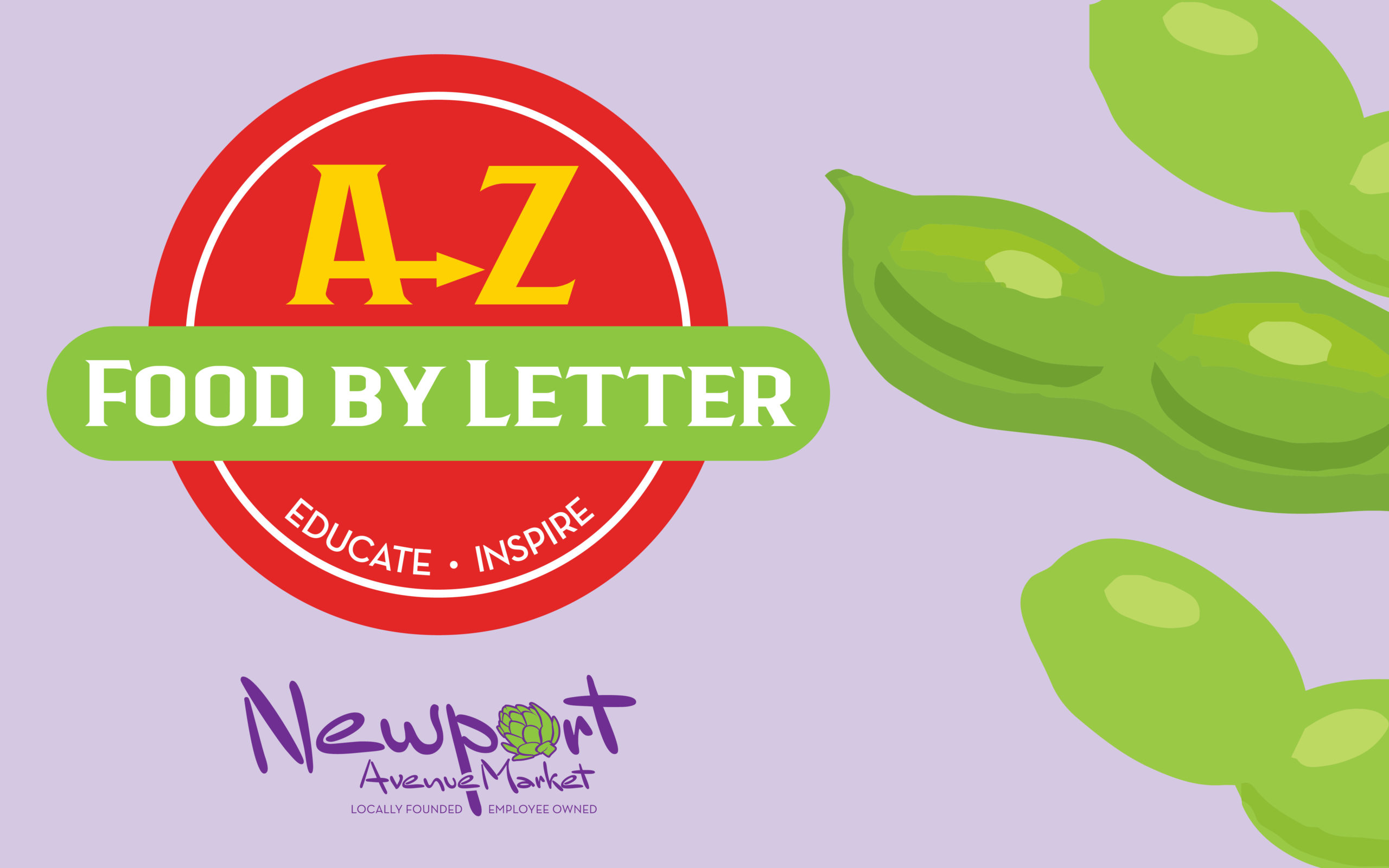 Edamame - A to Z - Food by Letter