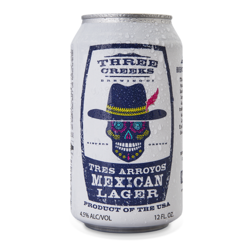 Three Creeks Brewing Tres Arroyos Mexican Lager